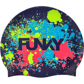 Funky Trunks Silicone Swimming Cap Men, hyper inflation